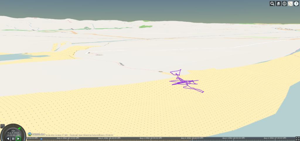 ArduPlotter 3D Map Open StreetMap