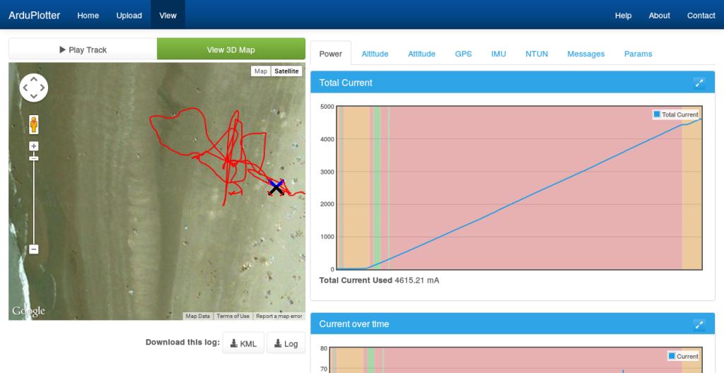 ArduPlotter - View Log-responsive