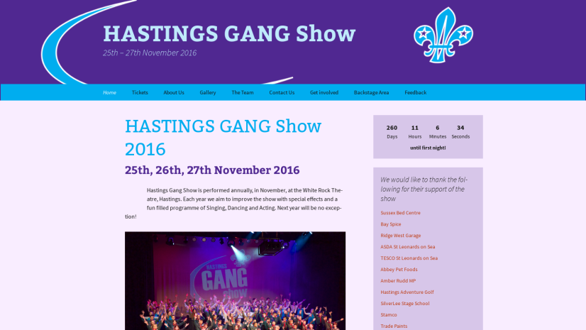 HASTINGS GANG Show 2016 – HASTINGS GANG Show